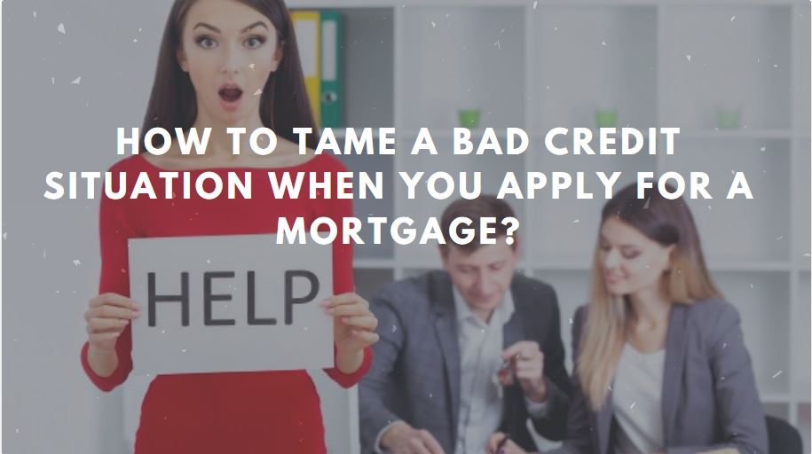 bad credit situation